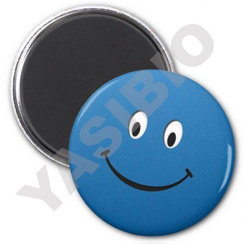 پیکسل ایموجی لبخند آبی