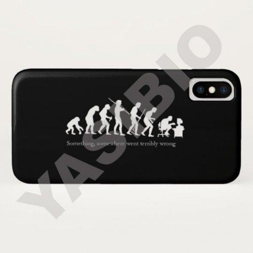 قاب موبایل طرح شوخی با تکامل 2