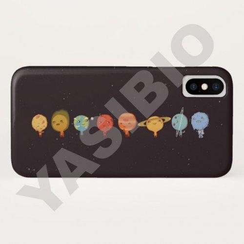 قاب موبایل طرح منظومه شمسی
